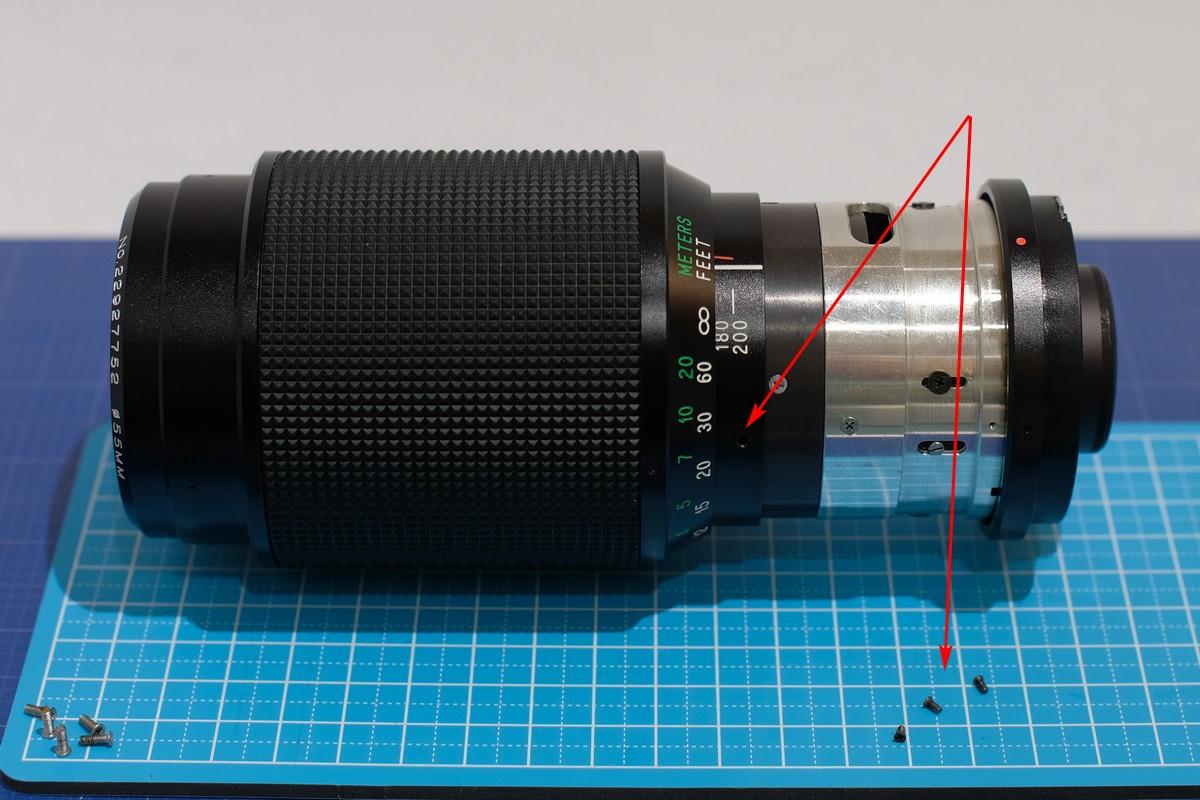 Disassembly – Vivitar 80-200mm F4 5 lens (Kino/Kiron) – yukosteel's blog