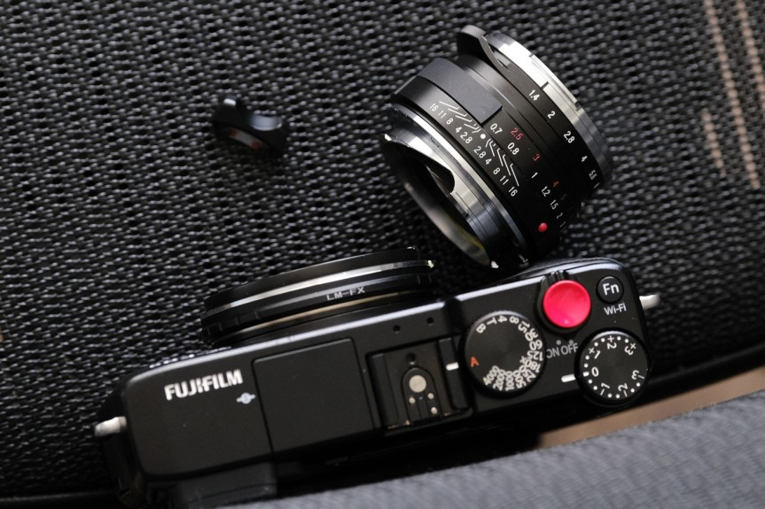 Removing focusing knob – Voigtländer Nokton Classic 40mm F1.4 S.C